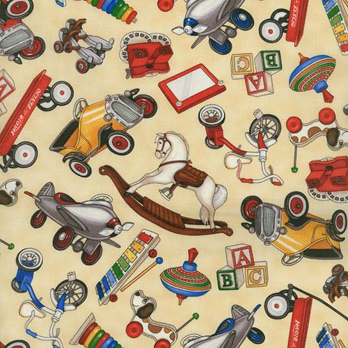 Were the toys are, hračky na béžové, 1709-001