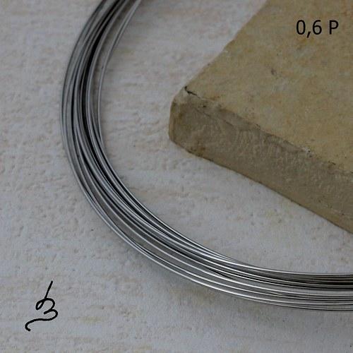 Osteo drát polotvrdý 0,6 mm - 5 m