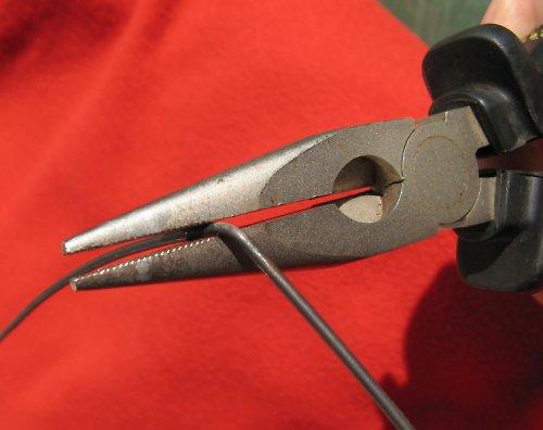 Černý žíhaný drát - průměr 1,25 mm - 1kg