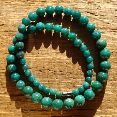 Amazonitový náhrdelník