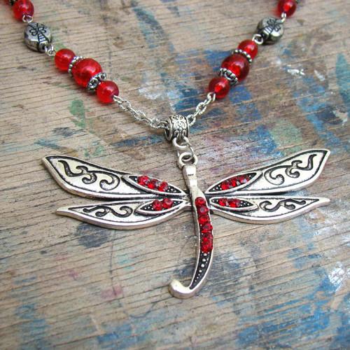 náhrdelník Vážka