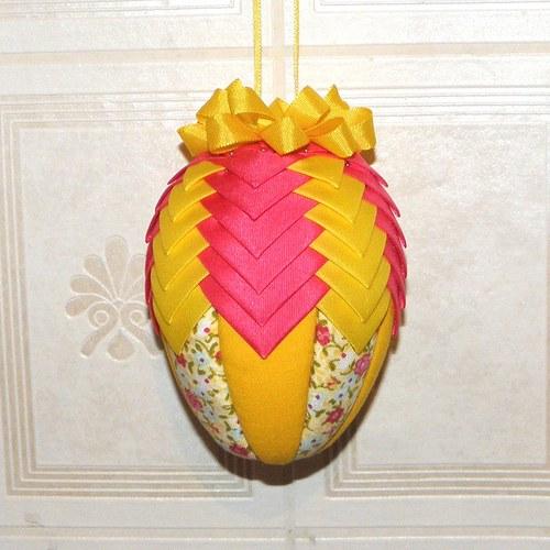 Artyčokové vajíčko - růžovo-žluté střední