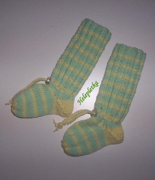 Kojenecké ponožko-návleky ze 100% merina   Zboží prodejce helepletka ... 326154feb3