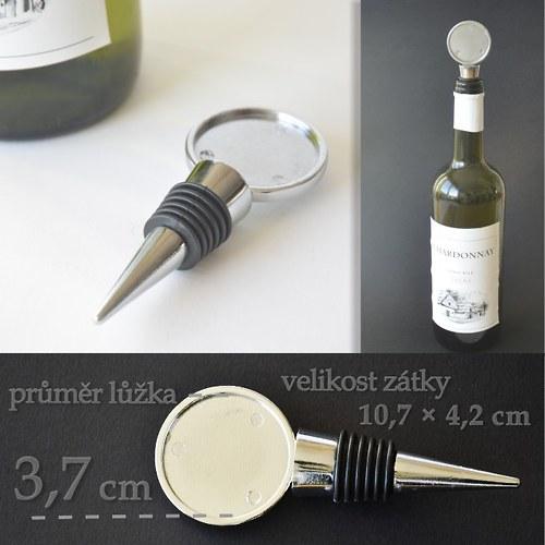 Zátka na láhev s lůžkem