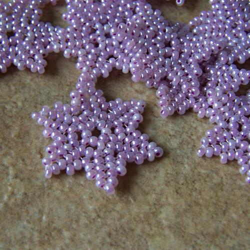 Hvězdičky - fialové