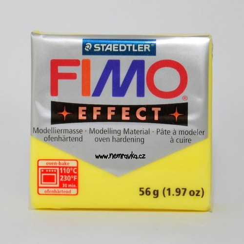 FIMO Effect / Transparentní žlutá (104)