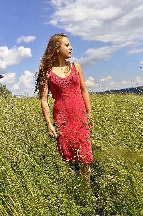 Pletené Sexy šaty