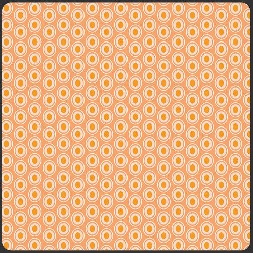 Látka Oval Elements Peaches´n Cream 924
