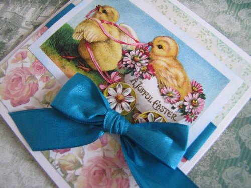 Kuřátka - velikonoční přání