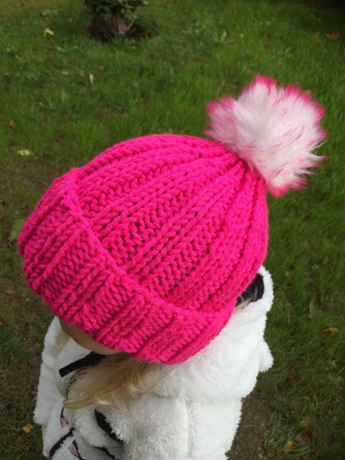 Ručně pletená čepice, kulich 3-6 let