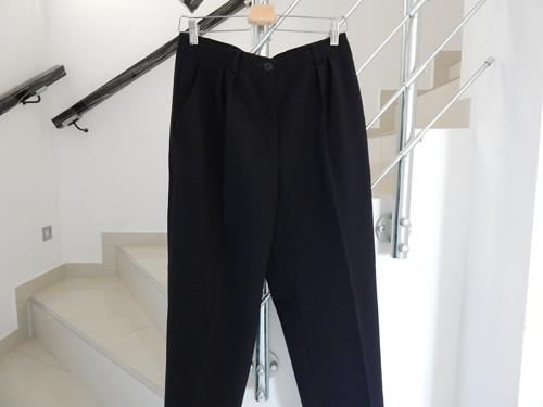 Kalhoty černé, s kapsami
