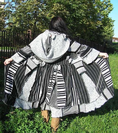 maxi patchwork svetr 21