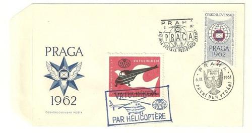Z historie mezinárodní výstava známek 1962