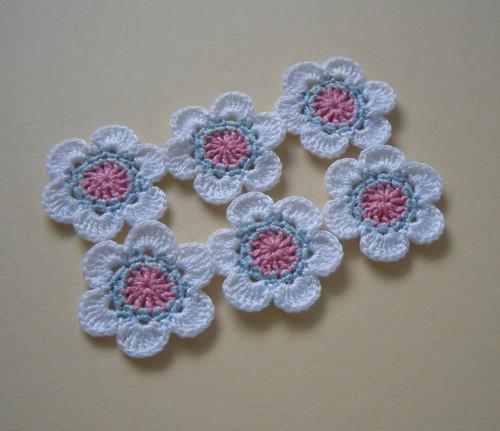 Sada květů bílých