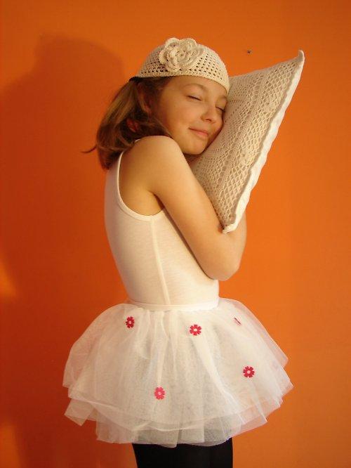 Sukýnka-spící baletka (6-10 let)