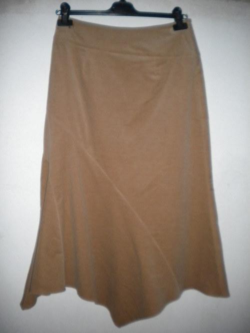 manšestrová sukně - A K C E