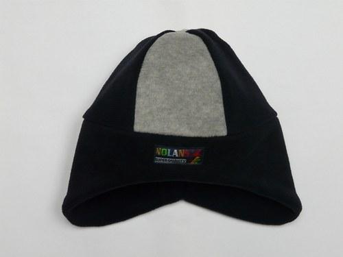Čepice modro-černá se šedivou, OH-50cm