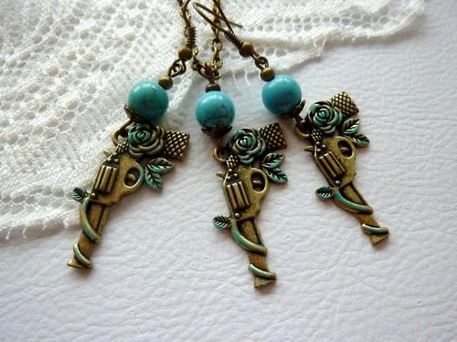 Zvýhodněná sada!!! Náušnice + náhrdelník