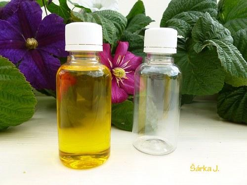 plastové lahvičky s uzávěrem - 30 ml