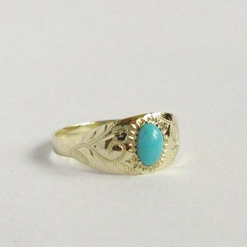 Navždy zakletá vzpomínka na léto (zlatý prsten)