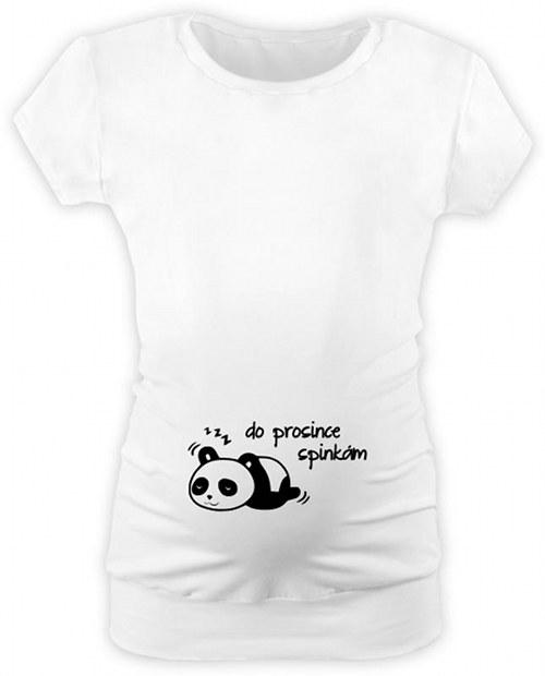 5597985fef3e Těhotenské tričko s potiskem panda (měsíc) - BT   Zboží prodejce ...