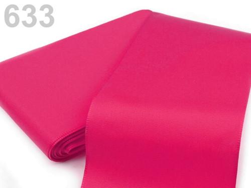 Taftová stuha 108mm (10m) - růžová sytá