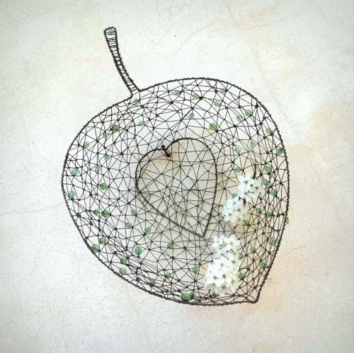 listový košík