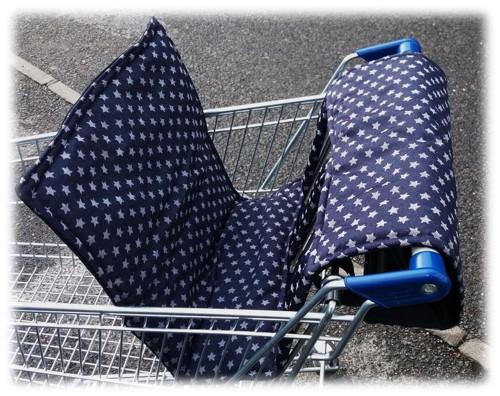 Vložka, polstrování do nákupního vozíku , košíku