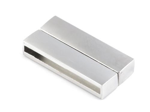Magnetické zapínání ploché 3x37 mm (1pár)