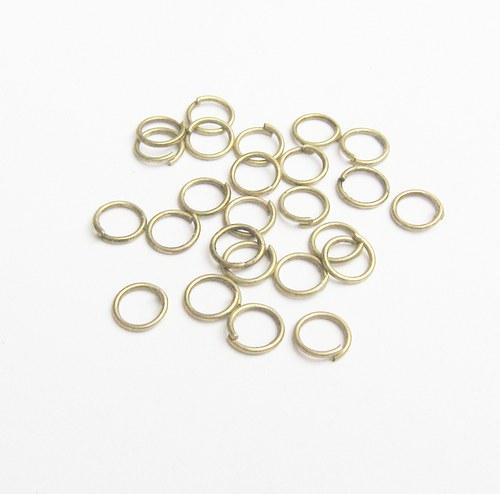Kroužky  6 mm  50ks