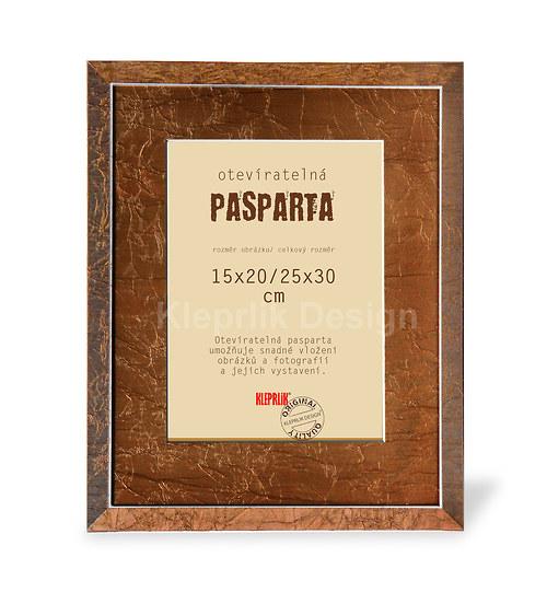 Pasparta otevíratelná Emma 2 - na obrázek 15x20 cm