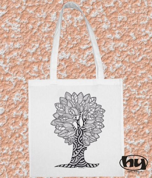 Strom - taška k domalování