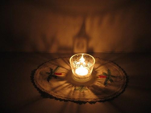 Svícen - svícínek,  nejen  vánoční.