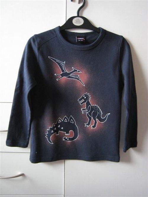 dětské tričko s dinosaury