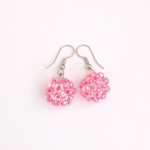 Růžové kuličky
