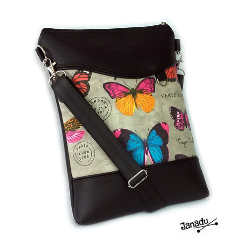 Kabelka - taška Motýl