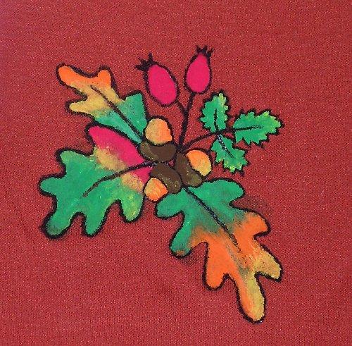Lady of autumn...tričko s krátkým rukávem...sleva!