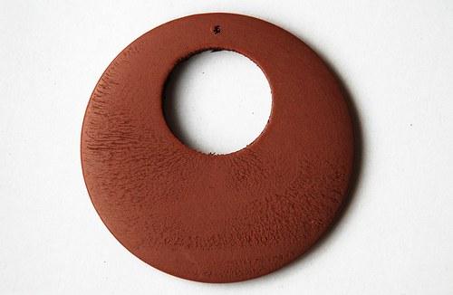 Dřevěné kolečko - světlé hnědé