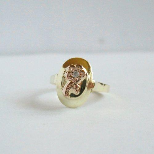 Duší romantik (zlatý prsten)