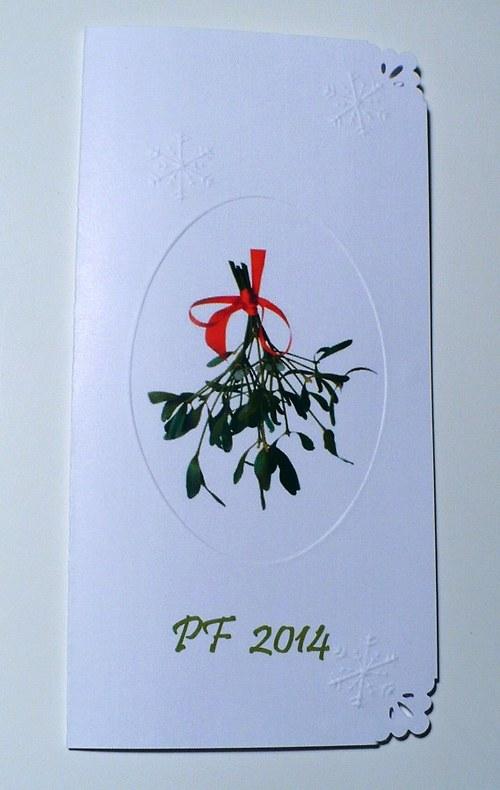 226. Přání do vánoční darovací obálky