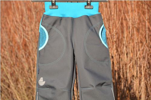 Softshellové kalhoty dětské