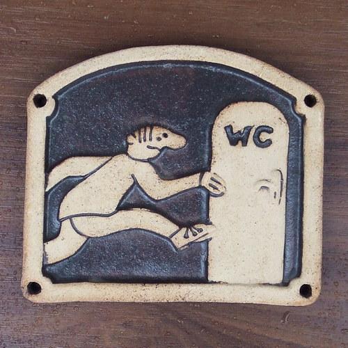 Kachlík č.26 - WC muži