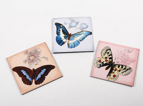 Magnetky - motýli II
