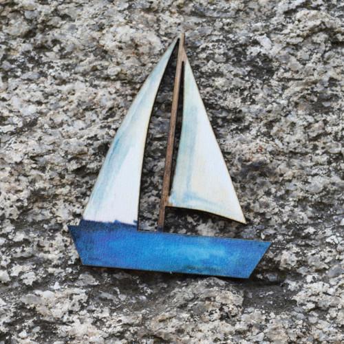 Brož  loďka