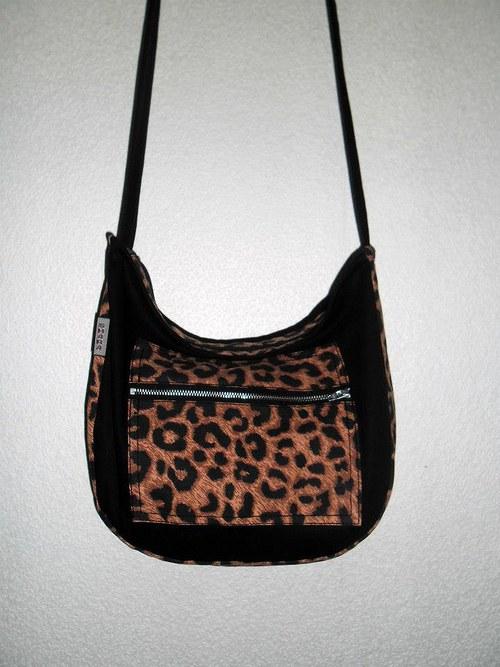Leopardí kabelka