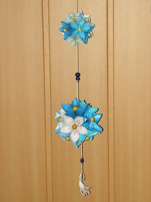 Kusudama květina - závěs