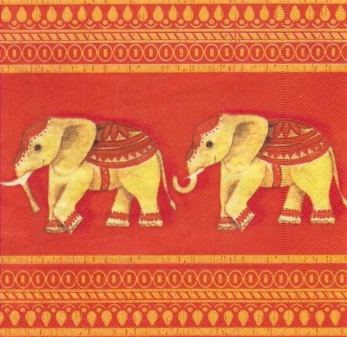 Ubrousek - sloni