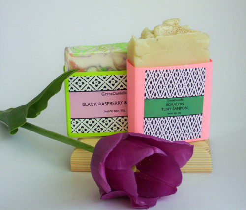 SET BLACK RASPBERRY & BORALON