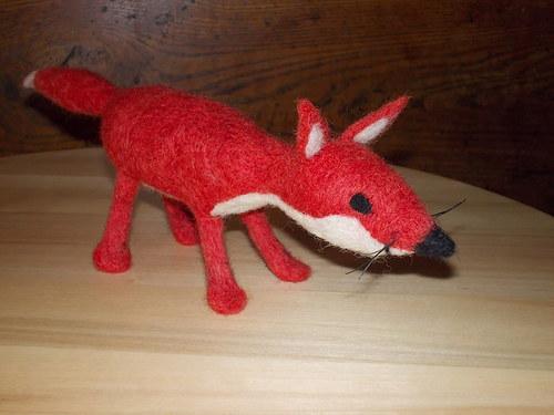 tahle liška vám slepice nesebere...