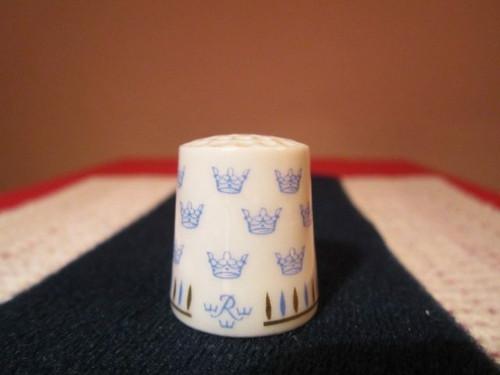 Porcelánový náprstek WGPH Rorstrand Sweden